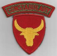 WW 2 US Army 12th Division Constabulary Patch & Tab Inv# F432