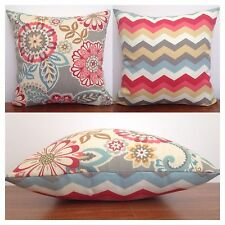 45x45cm Waverly Sun N Shade Indoor/Outdoor Solar Energy/Chevron Cushion Cover