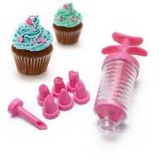 Nozzles Set Tool Cake Decoration Icing Piping Syringe Tips Muffin Pastry Pen Bag