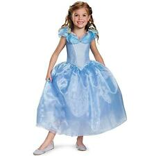Cinderella Movie Deluxe Child Costume for Girls Size XS (3T-4T)