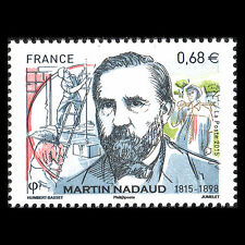 France 2015 - 200th Anniv the Birth of Martin Nadaud Politician - MNH