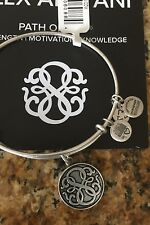 Alex and Ani Path of Life II Bracelet Bangle - Russian Silver  New w/tags & Card