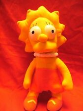 "LISA  SIMPSON SOFT PLUSH TOY 13"" TALL APPROX"