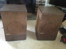 Bose 501 Series II Direct Reflect Speakers - Vintage