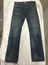 RRL SLIM FIT TOPEKA WASH SELVEDGE DENIM JEANS NEW   32/32