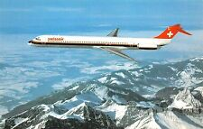 Br44755 Macdonnell Douglas MD 81 Swissair plane airplane 1