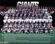1998 NEW YORK GIANTS NFL FOOTBALL TEAM 8X10 PHOTO PICTURE