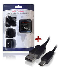 CASIO EXILIM EX-ZR200 / EX-ZR300 USB BATTERY CHARGER AD-C53U DIGITAL CAMERA