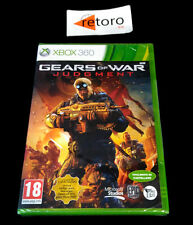 GEARS OF WAR JUDGMENT XBOX 360 PAL Español NUEVO PRECINTADO New Sealed EPIC GOW