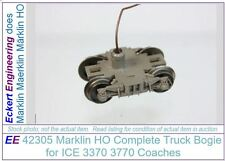 EE 42305 NEW Marklin HO Truck Assembly f ICE 3370 3770 Coaches w Ground Connect