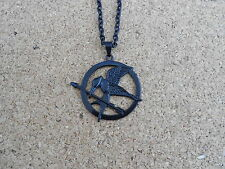 CIONDOLO THE HUNGER GAMES COLLANA GHIANDAIA IMITATRICE MOCKING BIRD NECKLACE #1