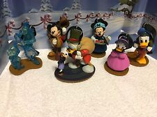 Disney Mickey's Christmas Carol Ornaments Set Of 6 Characters