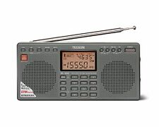 TECSUN PL390 PLL DSP World Band Dual Speaker Radio ** GREY **