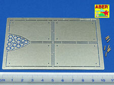 1/16 ABER 16037 ARMOUR for GRILLES  for TIGER II HENSCHEL for TRUMPETER PROMOTE