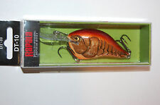 "rapala dt-10 dt10 mule dives to 10' bass crankbait 2 1/4"" 3/5oz"