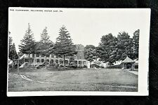 THE GLENWOOD DELAWARE WATER GAP PA POSTCARD c1919 OLD BOARDING GUEST HOUSE HOTEL