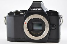 [Exc⁺⁺] OLYMPUS OM-D E-M5 16.1 MP Black (Body) Mirrorless Digital SLR Camera