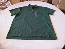 Tommy Hilfiger Maple leaf green 303 7845150 Mens Polo shirt H logos XL slim fit