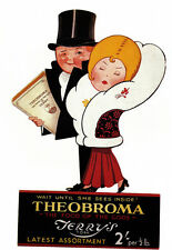 Theobroma Terrys Chocolate York Wait till she sees whats inside   Poster Print