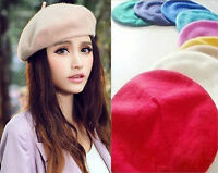 New Fashion Unisex Men Women Wool Warm Beret Beanie Hat Cap French Style Gift