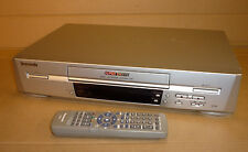 PANASONIC VHS VIDEO TAPE PLAYER/RECORDER VCR NTSC SUPER LP 12HR NV-SJ220