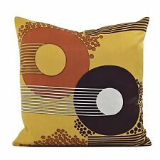 Vintage 60s 70s Psychedelic  Fabric Cushion Cover VW