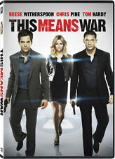 This Means War (2012, DVD NEW) WS