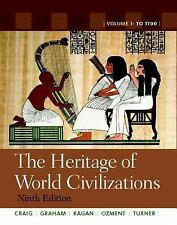 The Heritage of World Civilizations: Volume 1 with NEW MyHistoryLab and Pearson