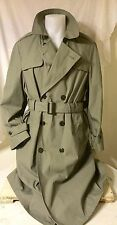 USMC All Weather MARINES MILITARY Coat Quilted Liner Jacket Trench 42 Long NWT