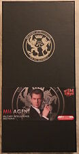 did action figure 1/6 12'' modern british agent paul mi6 boxed hot toy dragon