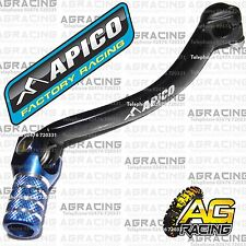 Apico Black Blue Gear Pedal Lever Shift For Yamaha YZF 250 2012 Motocross Enduro
