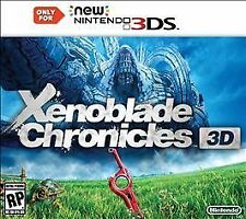 Xenoblade Chronicles 3D (New Nintendo 3DS only, 2015)