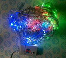 LED Multi Colour (White, Blue, Red, Green) Twinkle light 2m x 2m with control