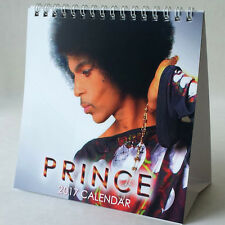 Prince Desktop Calendar 2017 NEW Kiss Cream Purple Rain Breakfast Can Wait