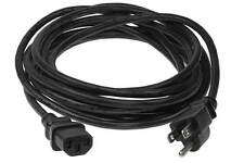 25ft 18 AWG Universal Power Cord (IEC320 C13 to NEMA 5-15P)