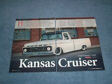 "1966 Ford F-100 Pickup Truck Article ""Kansas Cruiser"" F100"