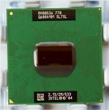 Intel Pentium M 770 2.13 GHz Socket 479 533 MHz SL7SL 2MB Processors  CPU  ,