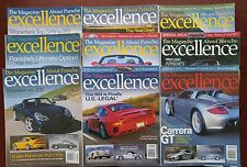 Porsche Excellence Magazine  - The Complete Year 2003 - 9 Complete Issues