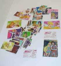 LOTTO 87+3 FIGURINE STICKER AUTOCOLLANT PANINI WINX CLUB 2005 RAINBOW
