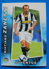 FOOTBALL CARDS PANINI REAL ACTION 2008-09 - N. 68 - C. ZANETTI - JUVENTUS - new