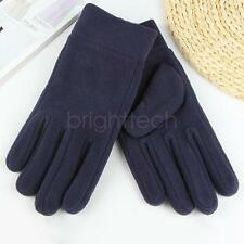 Men Winter Outdoor Polar Fleece Gloves Warm Thicken For Cycling Skiing  WA5