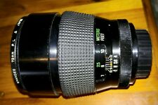 Vivitar Series 1 135mm f2.3 M-42 mount  sn 2820875 CLEAN w/ Grander 72mm P.L