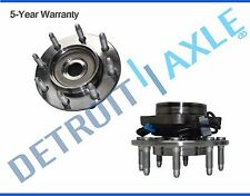 Both (2) Front Wheel Hub and Bearing Assembly for Chevy GMC 4x4 ABS