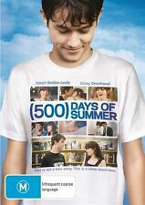 500 Days Of Summer (DVD, 2010) IN A BRAND NEW CASE