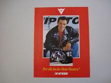 advertising Pubblicità 1991 DAINESE e LUCA CADALORA