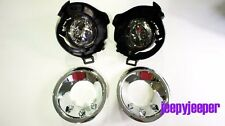 Spot light Fog Lamp FOR NISSAN FRONTIER NAVARA D40 PATHFINDER CHROME LED COVER