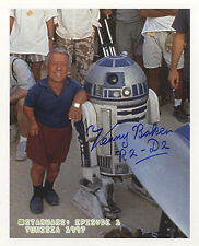 Star Wars - Kenny Baker ' R2D2 ' In Person Signed Photograph Autograph