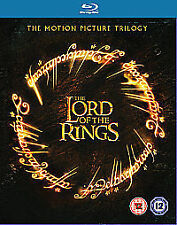 Lord Of The Rings Trilogy (Theatrical Version) [Blu-ray], Very Good DVD, Elijah