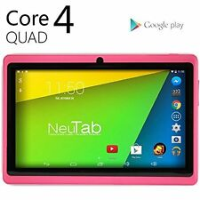 N7 Pro 7'' Quad Core HD 8GB WiFi Dual Cam Google Android 4.4 KitKat Tablet Pink