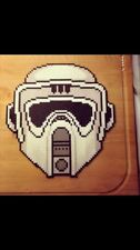 Biker Scout  perler wall art  rave melty edm edc sprite hama plur star wars bead